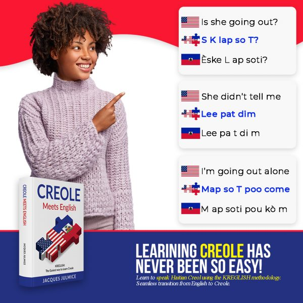 Learn to pronounce Creole by reading English