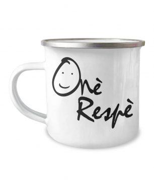 Onè Respè Enamel Coffee Cup